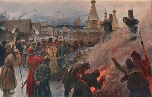 The Burning at the Stake of Archpriest Avvakum