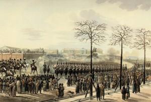 Decembrist Officers in Revolt
