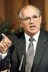 Yuryi Abramochkin / Юрий Абрамочкин Photo of Gorbachev